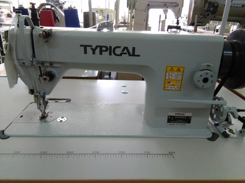maquina de coser recta doble arrastre typical gc-0303