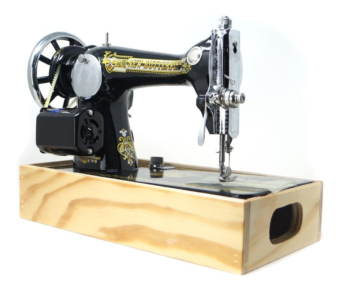 Maquina De Coser Recta Domestica Nueva Con Pedal Y Motor