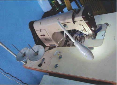 máquina de coser recta industrial pfaff. sesgo. remato ofert
