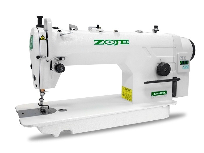 Maquina De Coser Recta Industrial Zoje Electronica Zj9503b