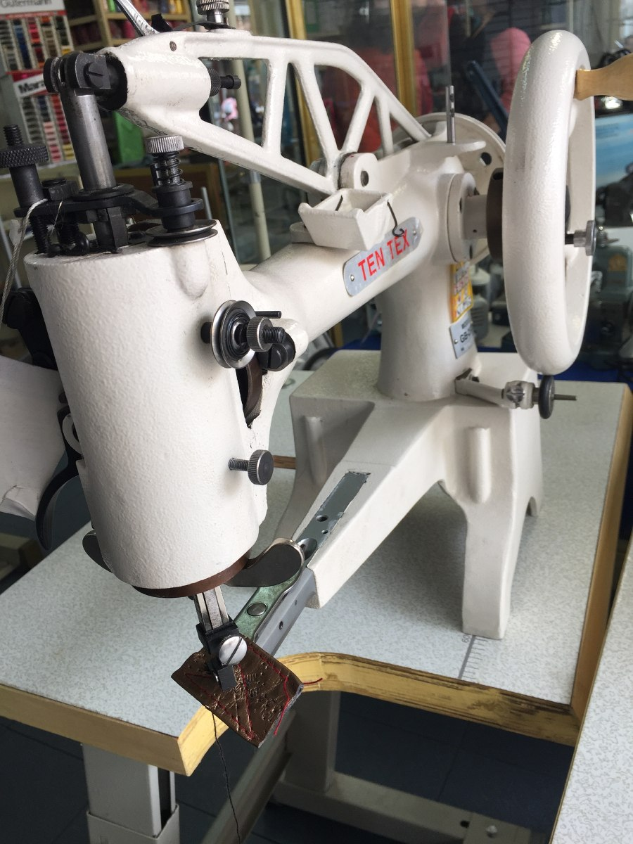 Maquina de coser remendona para zapato piel vinyl - Maquinas de coser ladys ...