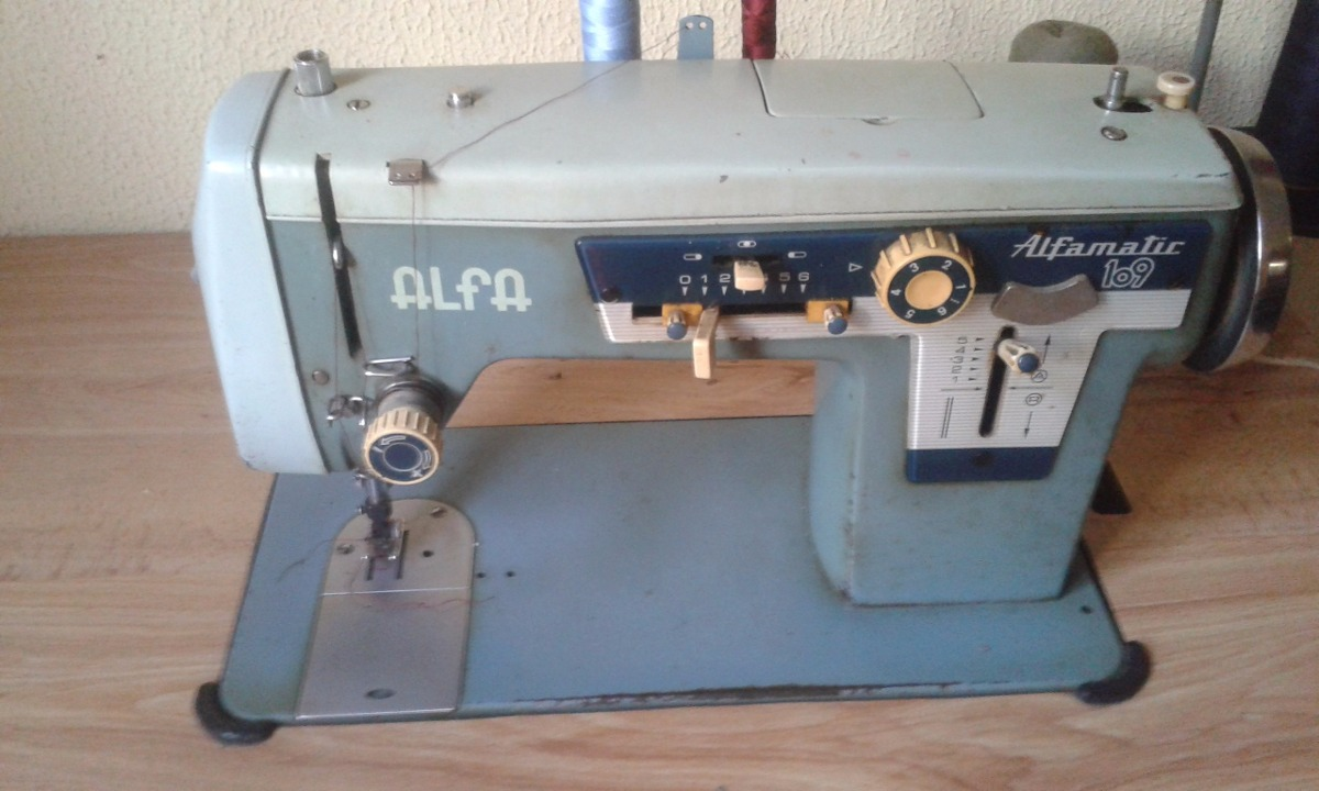Maquina De Coser Semi Industrial Alfa Mod. 109 - Bs. 115
