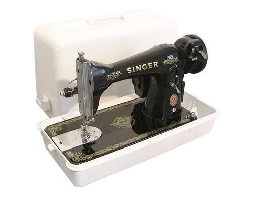 maquina  de coser singer 15chv automatica valija recta