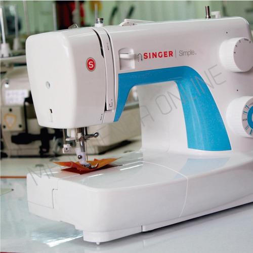 maquina de coser singer 3221 simple. 21 puntadas 750 pun*min