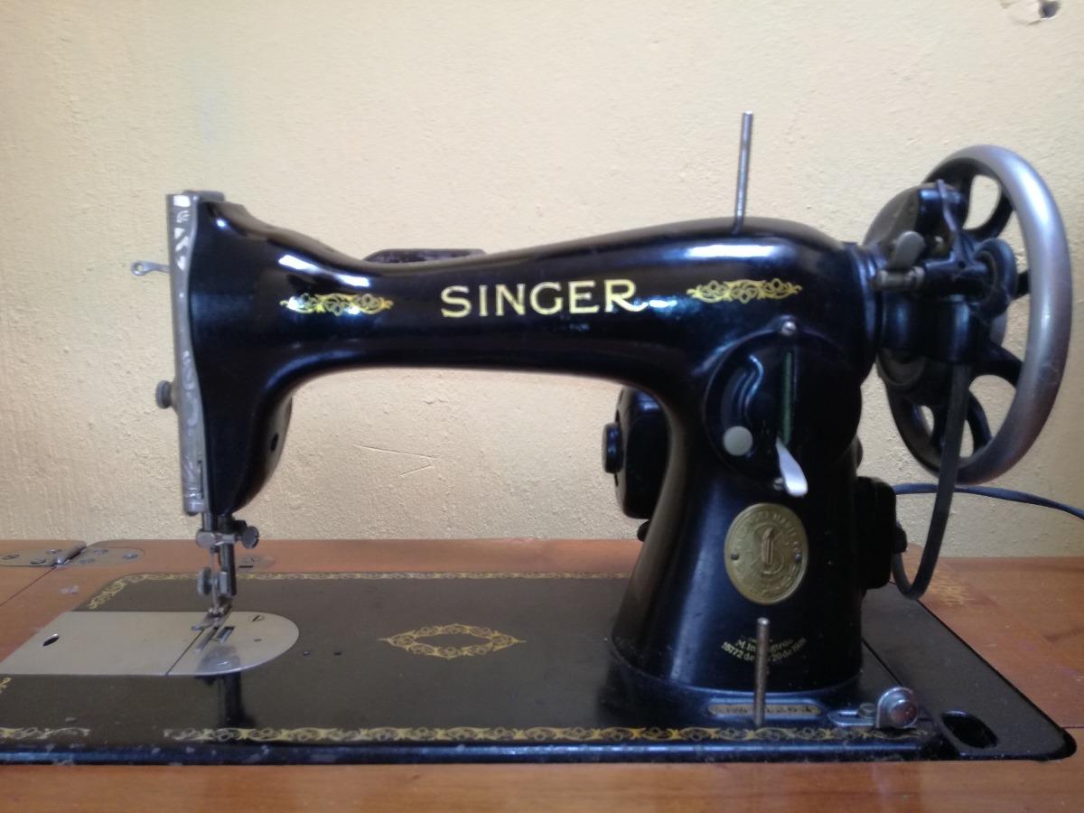 Máquina De Coser Singer Antigua 1918 Funcionado - $ 10,000