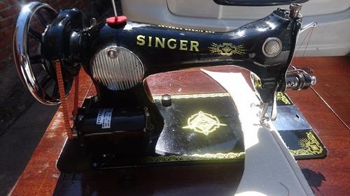 maquina de coser singer antigua excelente estado funcionando