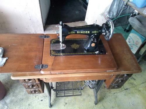 maquina de coser singer antigua funcionando