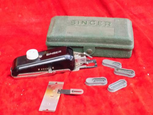 maquina de coser singer  antigua para hacer ojales