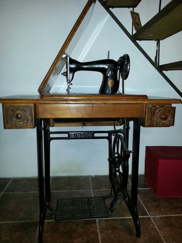 maquina de coser singer con mesa