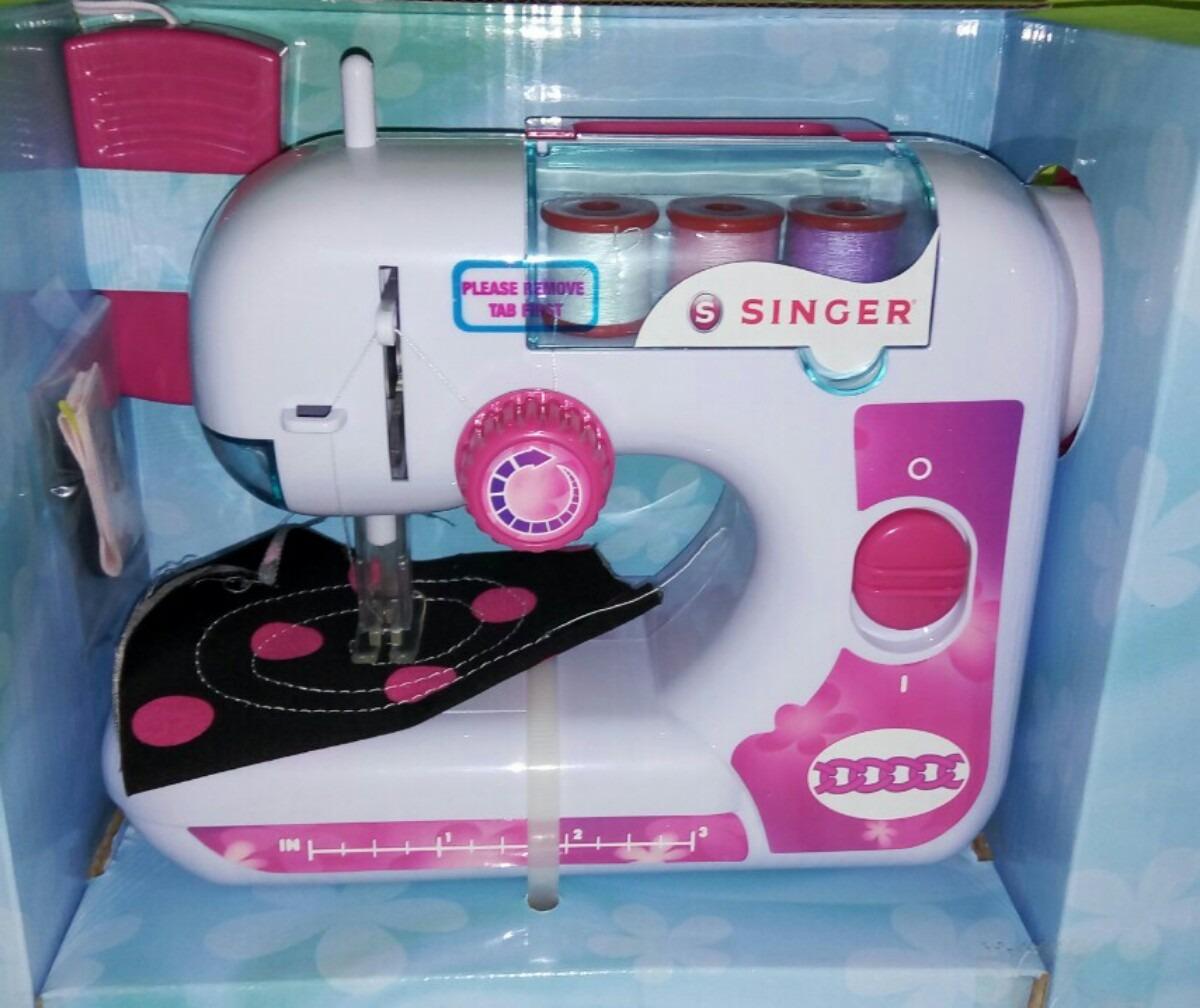 Máquina De Coser Singer De Juguete Para Niña - Bs. 6.600