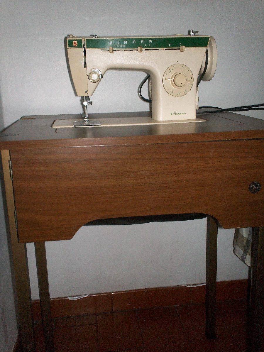 Maquina de coser singer modelo 263 con su mesa bs 250 for Mesa para maquina de coser