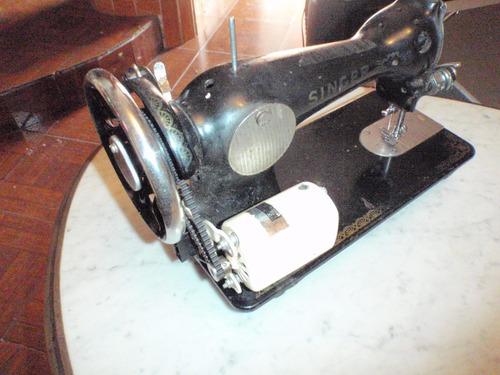 maquina de coser singer negrita