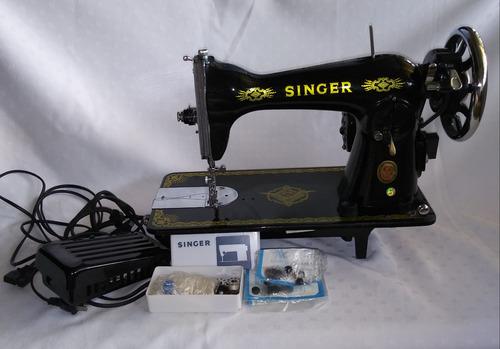 máquina de coser singer negrita