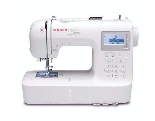 maquina de coser singer profesional mod 2010 + curso gratis