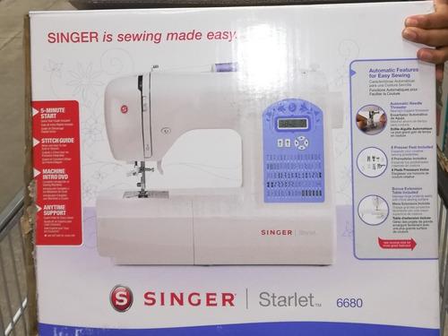 maquina de coser singer starlet 6680 nueva