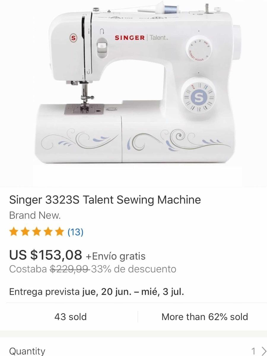 Cubierta de bobina para las máquinas de coser Singer como talento...
