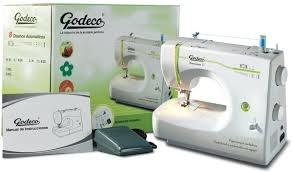 maquina de coser y bordar godeco dinamica 2 envio y garantia