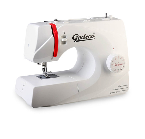 máquina de coser y bordar godeco mod. virtuosa 23 diseños