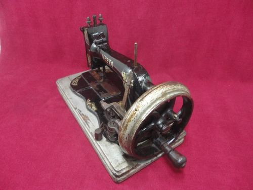 maquina de costura antiga manual dietrich vesta raridade!