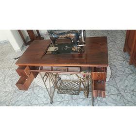 Máquina De Costura Antiga Pfaff  Raridade