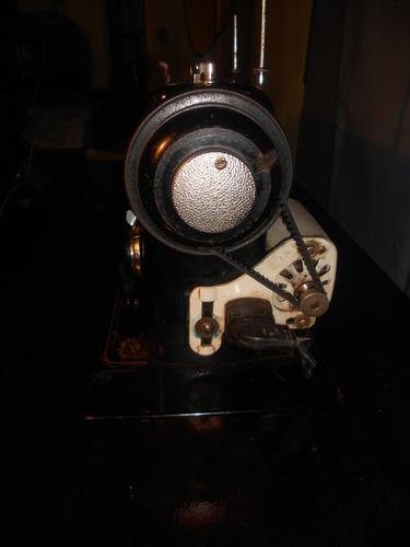 maquina de costura antiga pfaff 6 com gabinete e motor