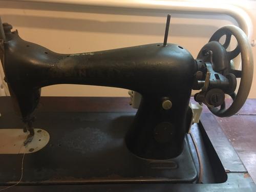 máquina de costura antiga singer completa