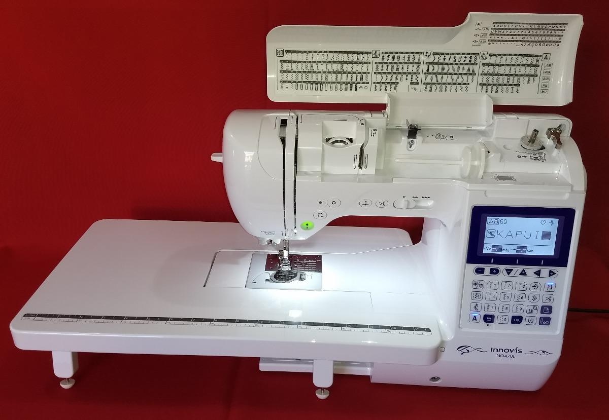 Máquina De Costura Brother Nq470 Ldv Computadorizada - R  3.560 f6fd549e799