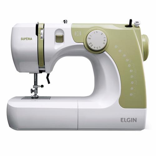 máquina de costura doméstica elgin supéria jx2050 110 vts