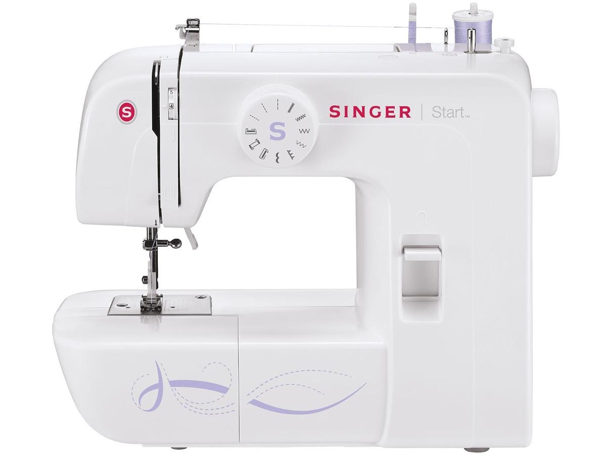 máquina de costura doméstica singer start 1306 +brinde. Carregando zoom. b15a2ad2a06