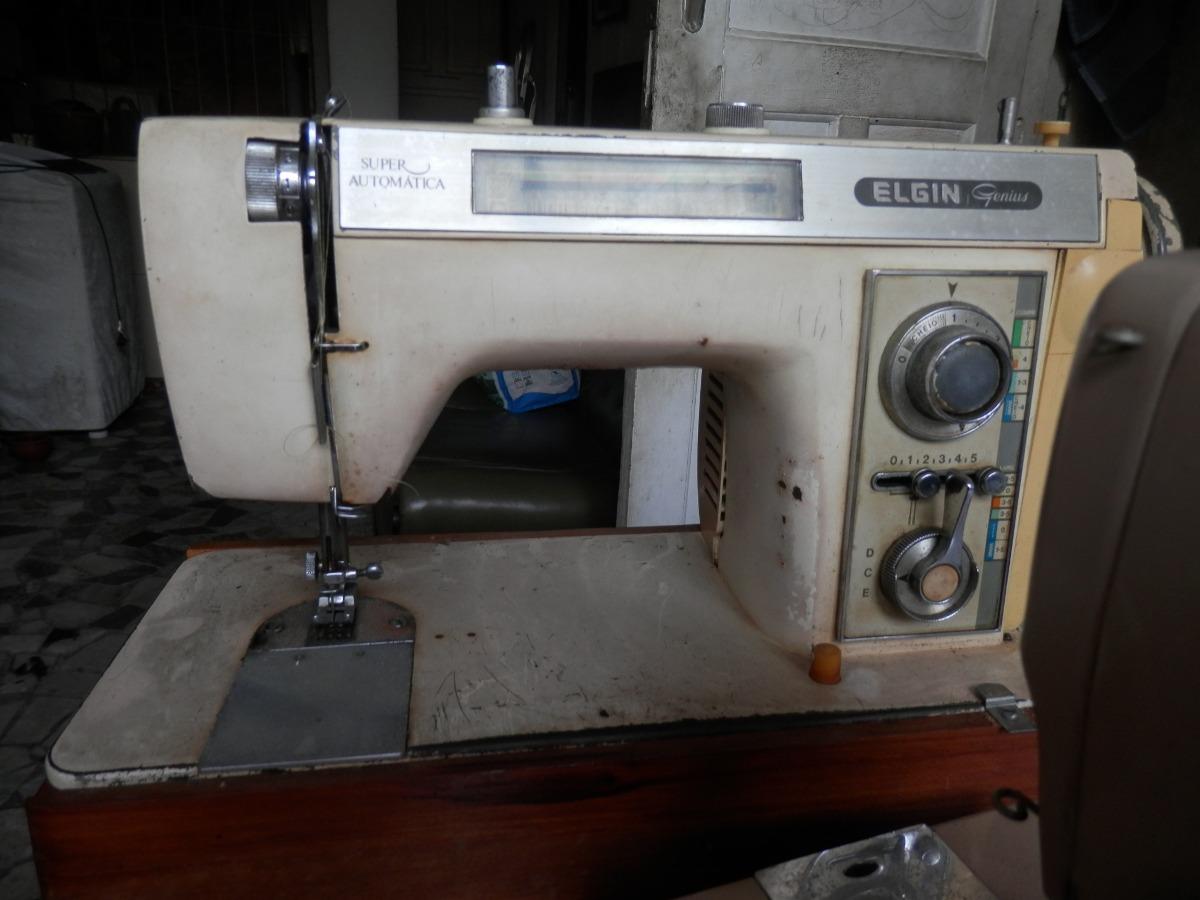 maquina de costura elgin genius com mine gabinete. Carregando zoom.