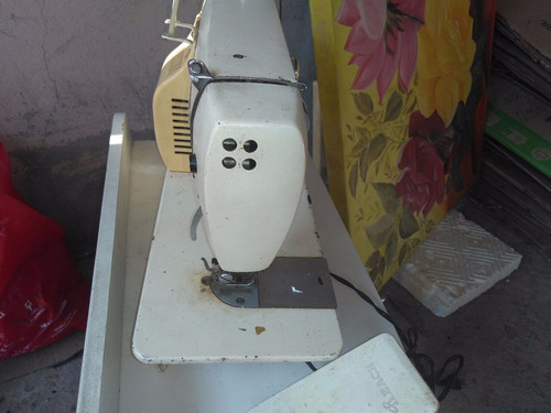 máquina de costura elgin zig zag antiga