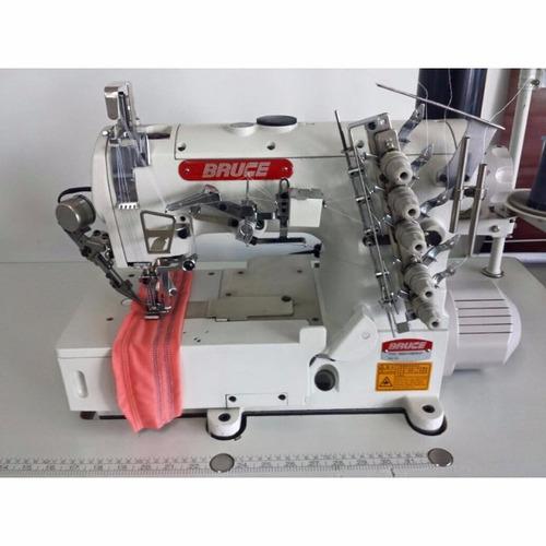 máquina de costura galoneira eletrônica plana nova 220v