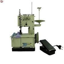 máquina de costura galoneira portátil semi indl 2 agulhas110