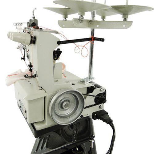 máquina de costura galoneira semi industrial bracob 3 ag 110