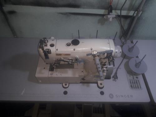 maquina de costura, industrial, galoneira cinco linha ciruba