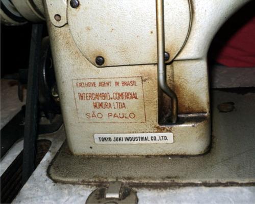 maquina de costura industrial reta juki