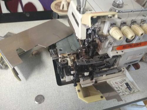 máquina de costura interlook profissional