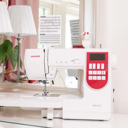 maquina de costura janome dm7200 + mesa extensora