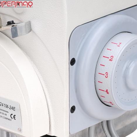 máquina de costura overlock industrial singer direct drive