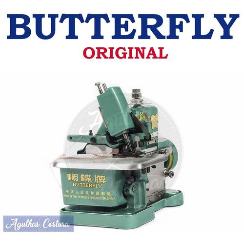 maquina de costura overlock overloque chinesinha butterfly