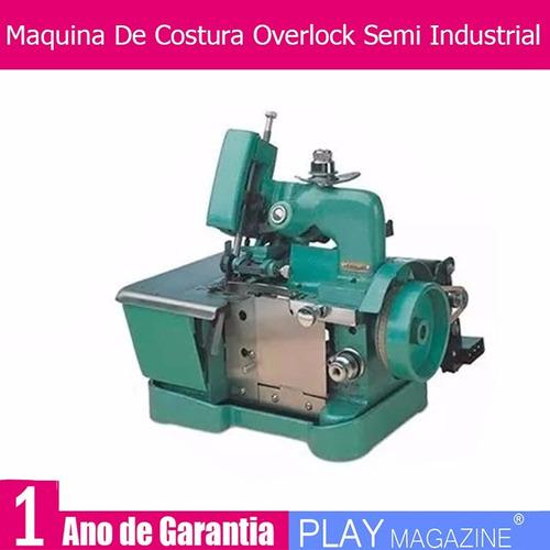 maquina de costura overlock overloque semi industrial gn1-6