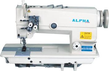 máquina de costura pespontadeira 2 agulhas barra fixa laç. g