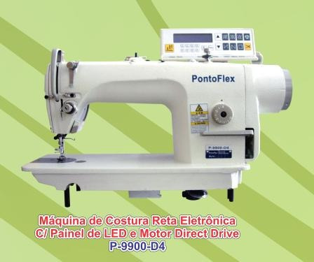 maquina de costura reta eletronica direct drive (s/ correia)