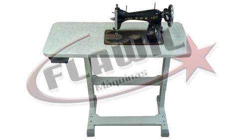 máquina de costura reta semi-industrial flawil nova c/mesa