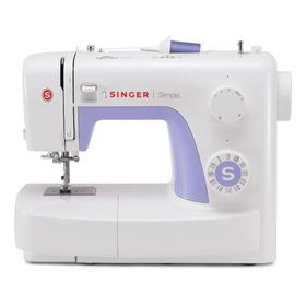 Máquina De Costura Singer Simple 3232 Branco/roxo 110v