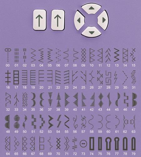 máquina de costura singer starlet 6680 - 74 pontos