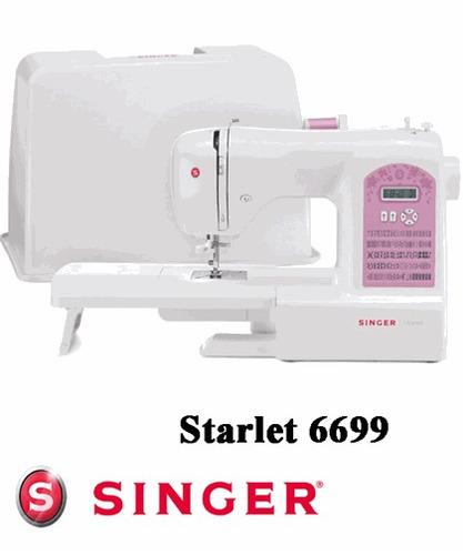 máquina de costura singer starlet 6699 eletrônica 91 pontos