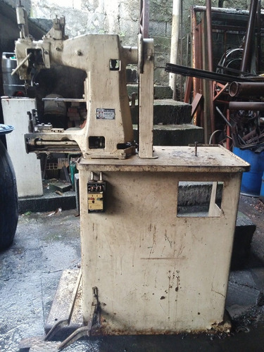 maquina de costurar sapato antiga  -  alemã