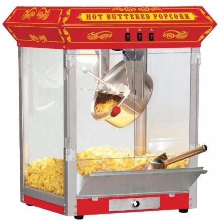 maquina de crispetas 8 oz full size