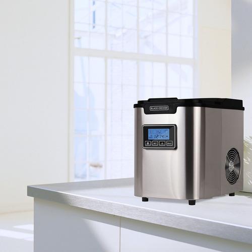máquina de cubos de hielo para mostrador portátil para bebid